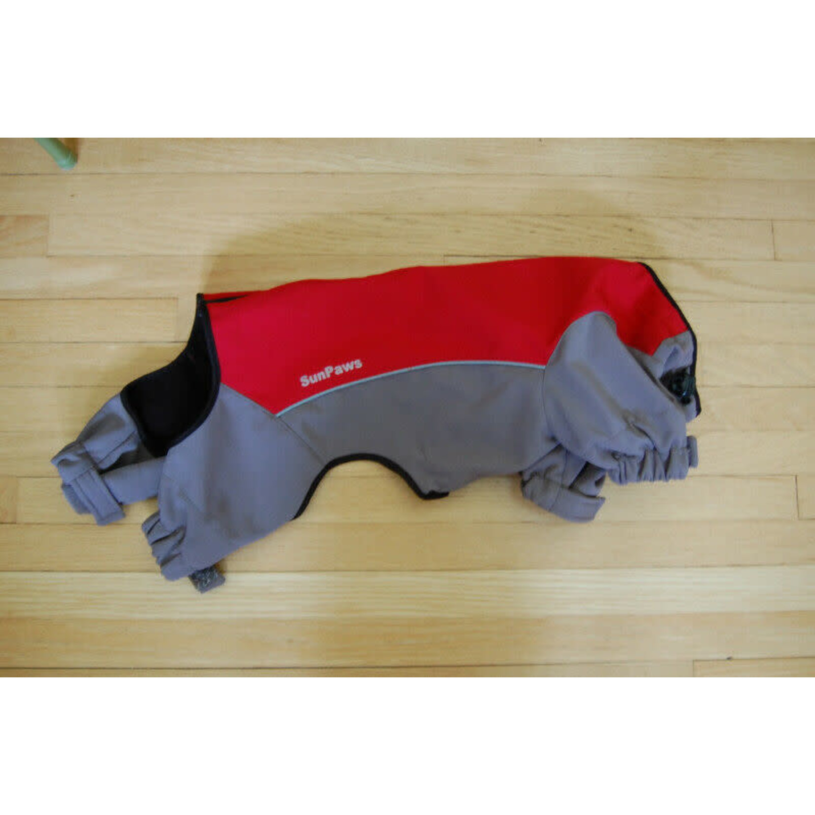 Sun Paws Sun Paws Soft Shell Overall Red M