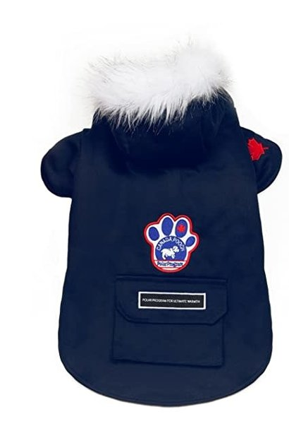 Canada Pooch Winter Wilderness Jacket Blue 18""