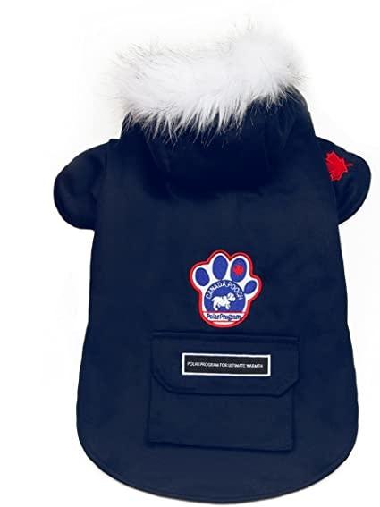"Canada Pooch Winter Wilderness Jacket Blue 18""-1"