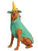 Chilly Dog Unicorn Hoodie LG