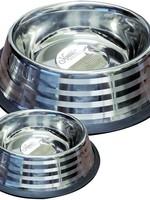 Nourish Stainless Steel Fashion Bowl 16oz