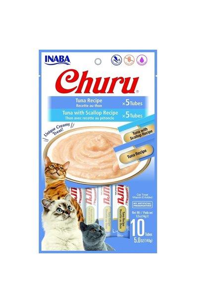 INABA Churu Puree Tuna Variety Bag 10pk-Cat