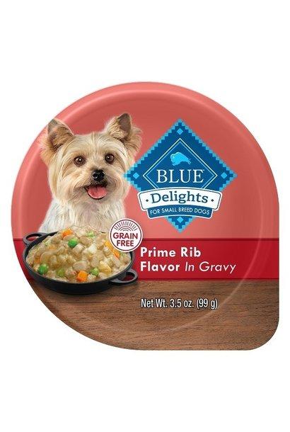 Blue Delights Prime Rib in Gravy 12x3.5oz