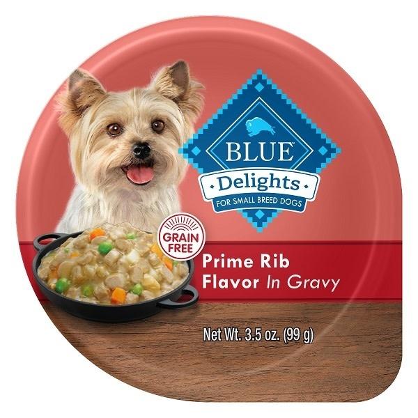 Blue Delights Prime Rib in Gravy 12x3.5oz-1