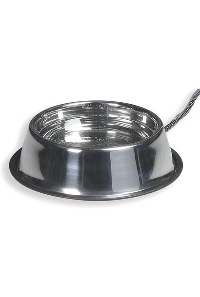 Heated Pet Bowl SS 5qt