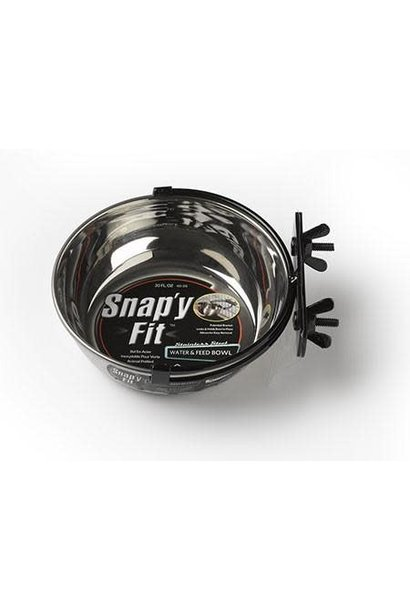 1 Quart Snapy Fit Stainless Steel Bowl
