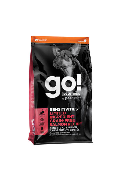 GO! Sensitivities LID GF Salmon 22LB