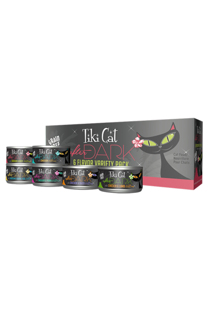 Tiki Cat After Dark GF Variety Pack 12/2.8 oz