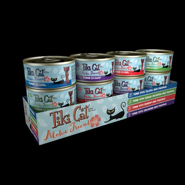 Tiki Cat Aloha Friends GF Variety Pack 12/3 oz-1