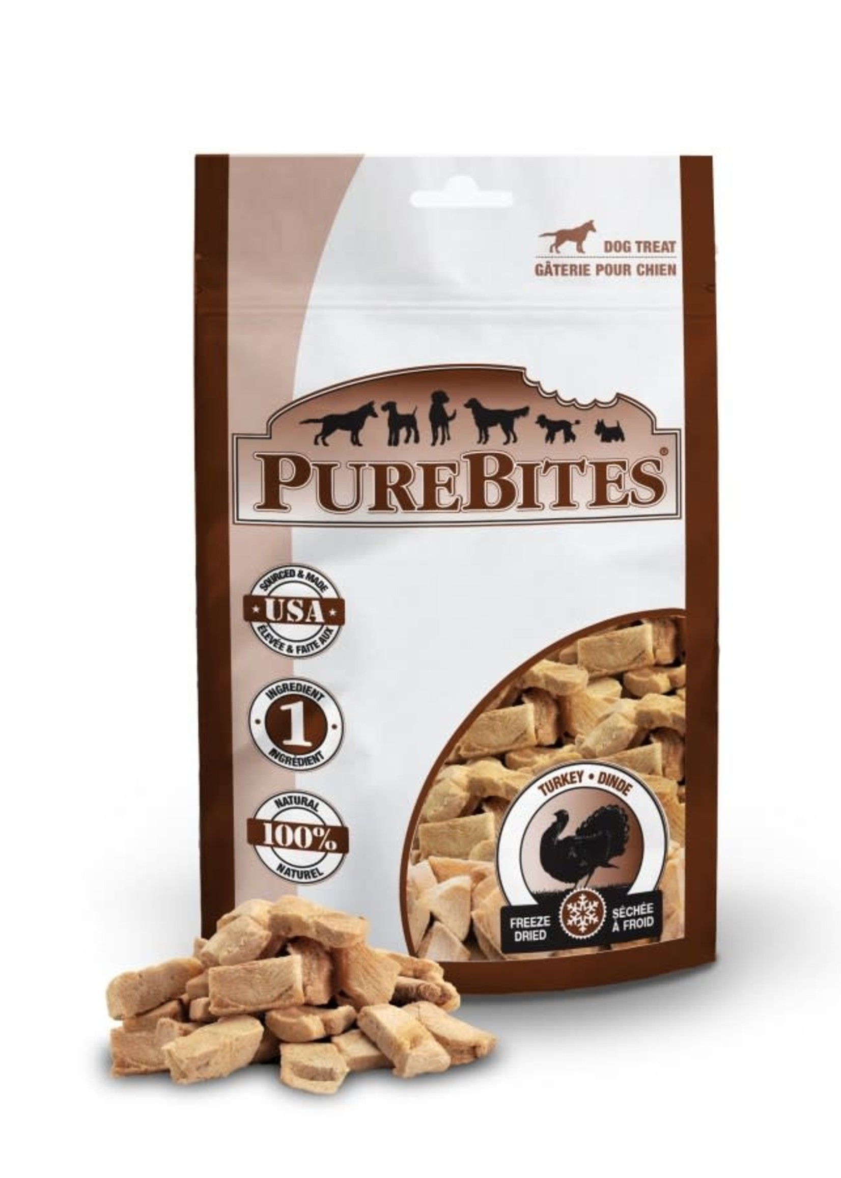 PUREBITES PureBites Turkey Mid 74g