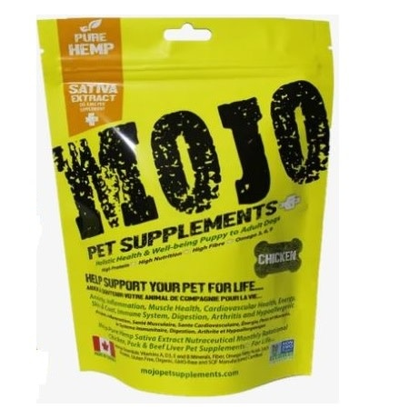 Mojo Supplements Chicken w/ Hemp Sativa Oil-1