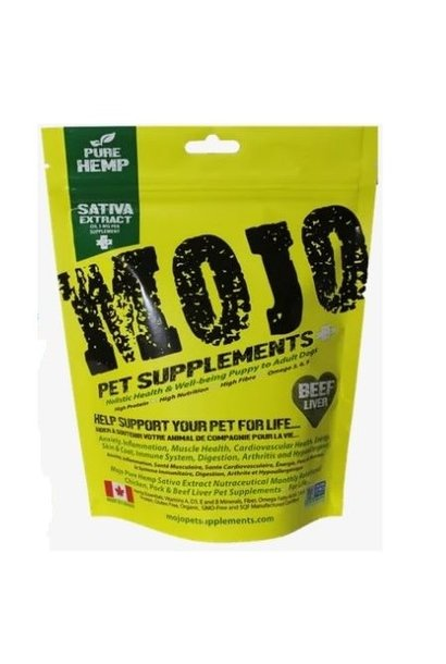 Mojo Supplements Beef Liver w/ Hemp Sativa Oil