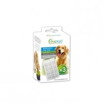 H2O Replacement Filters for Drinking Fountains Dog/Cat Pk3-1