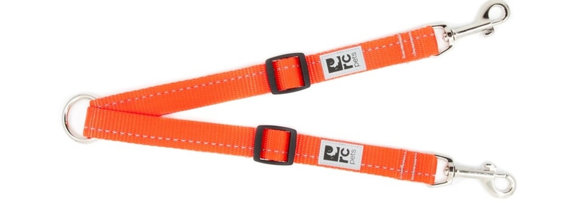 Adjustable Coupler Primary Small 3/4 Orange