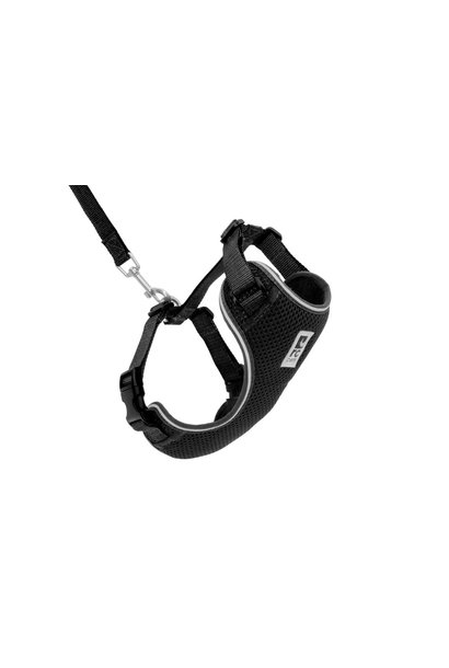 Adventure Kitty Harness Medium Black