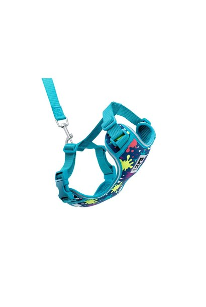 Adventure Kitty Harness Medium Splatter