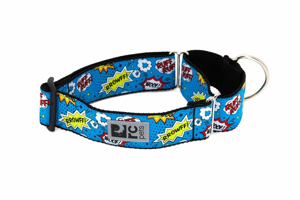All Webbing Training Collar M Comic Sounds-1