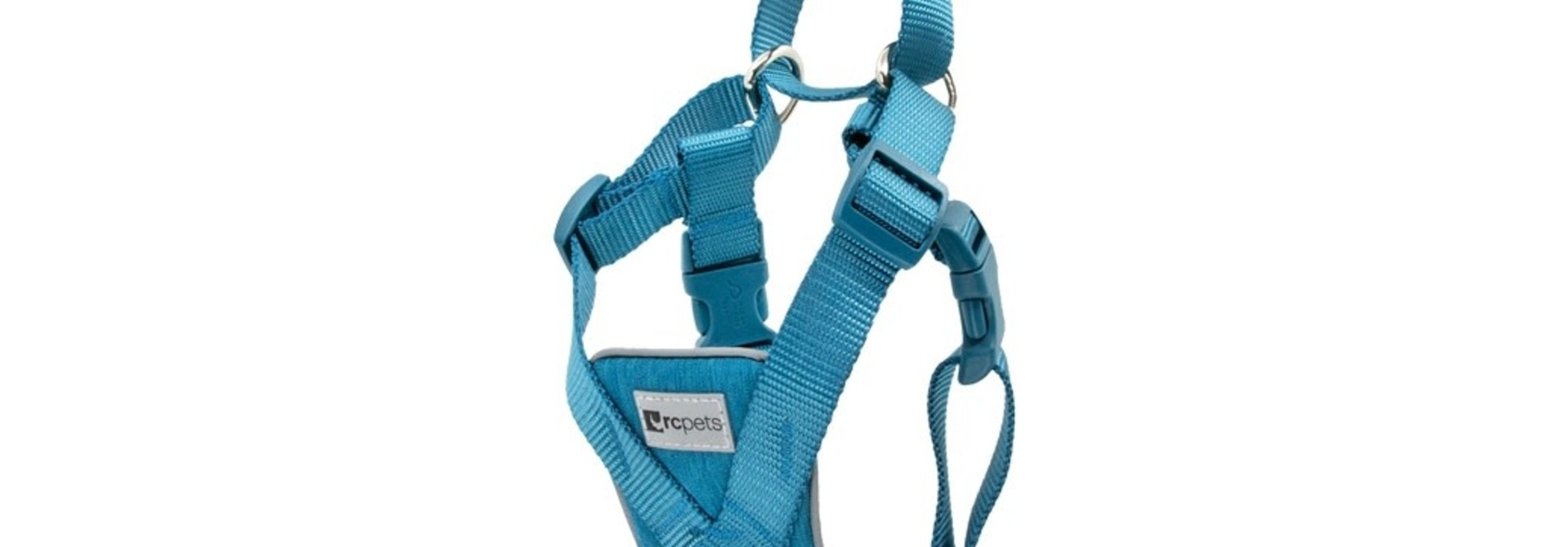 Tempo No Pull Harness Large -Heather Teal