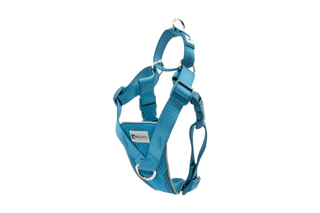Tempo No Pull Harness Large -Heather Teal-1