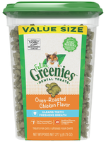 Greenies Cat Dental Treat Chicken 9.75OZ