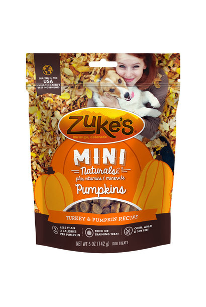 Mini Naturals Pumpkin & Turkey 5OZ