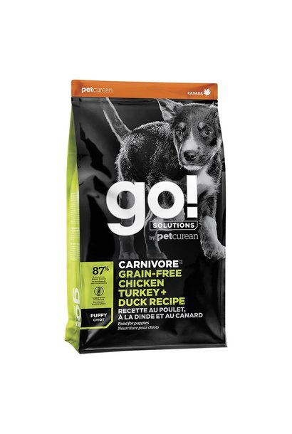 GO! Carnivore Chicken Turkey & Duck Puppy 22LB