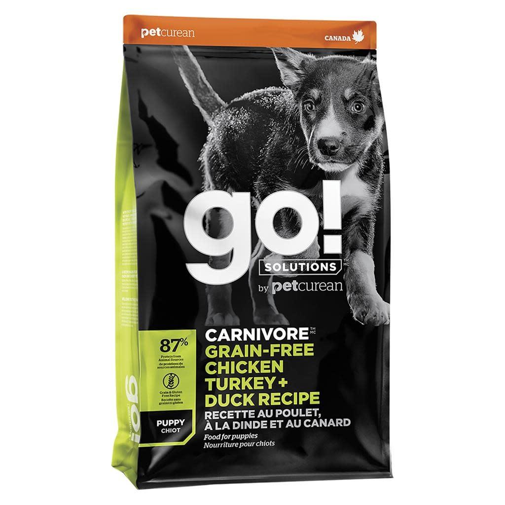 GO! Carnivore Chicken Turkey & Duck Puppy 22LB-1