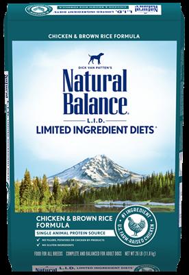 Chicken & Brown Rice 26LB-1