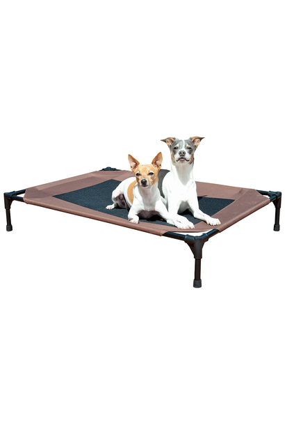 Pet Cot Mesh Chocolate Large