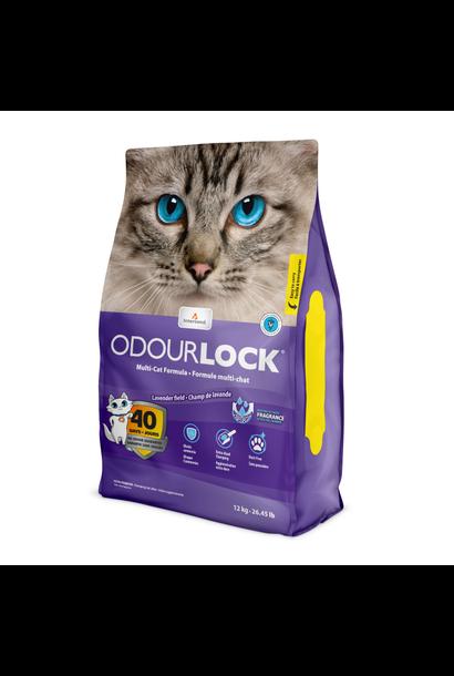 Lavender Clumping Cat Litter 12kg