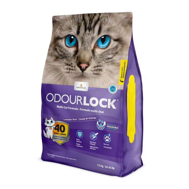 Lavender Clumping Cat Litter 12kg-1