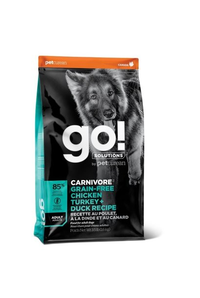 GO! Dog Carnivore Chicken, Turkey & Duck