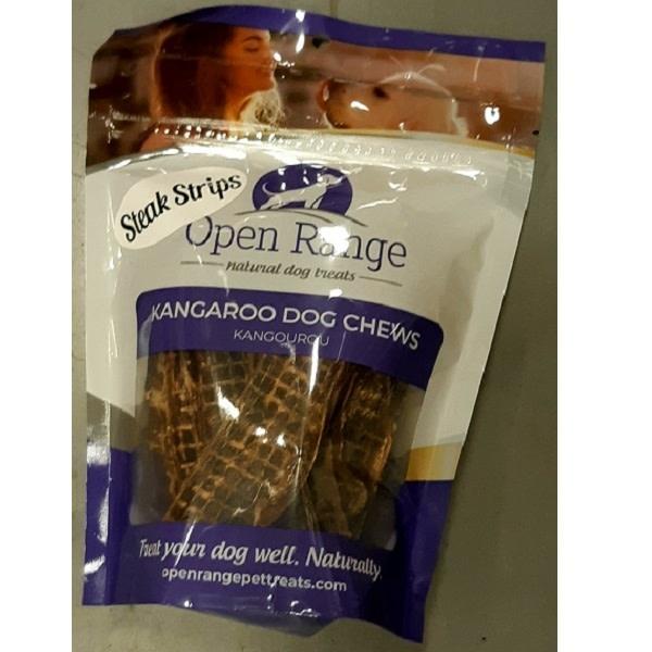 Kangaroo Steak Strips 100g bag-1
