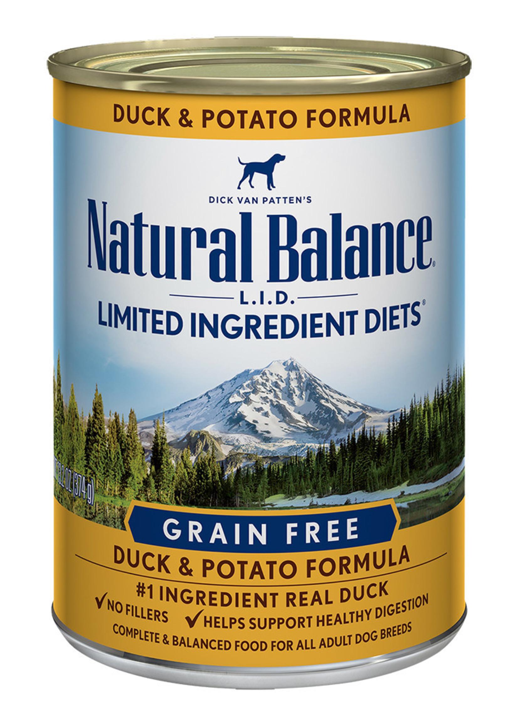 Natural Balance Grain Free Duck & Potato 13oz