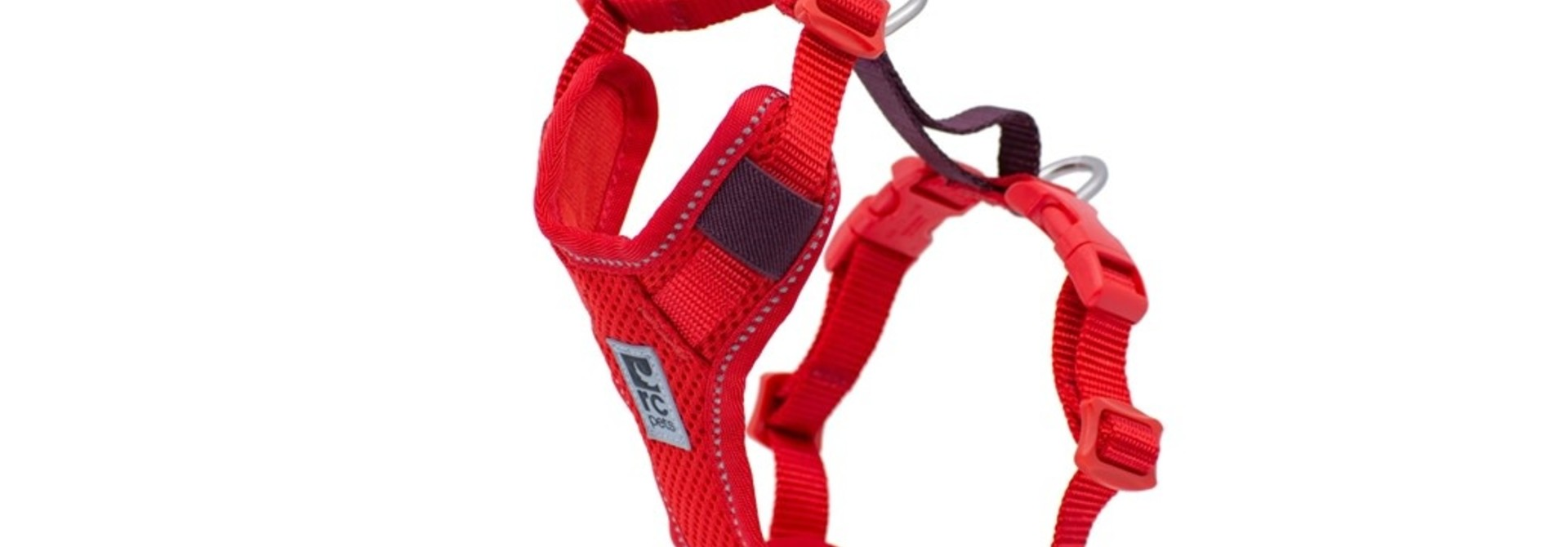 Moto Control Harness Large Gogi Berry/Burgundy