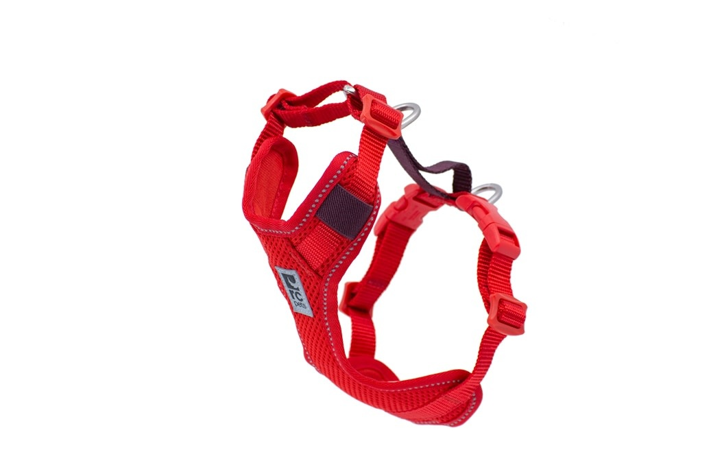 Moto Control Harness Large Gogi Berry/Burgundy-1
