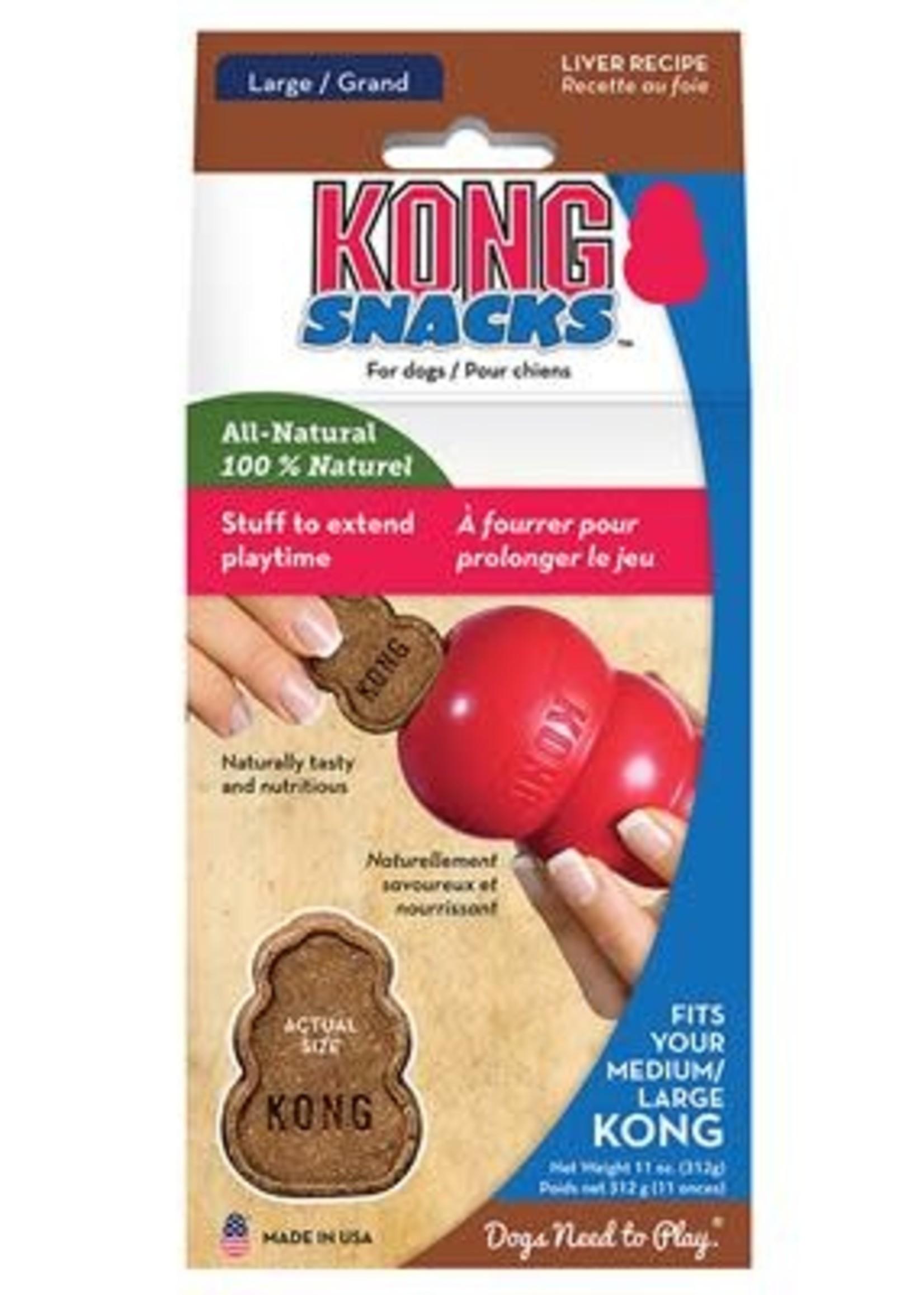 Kong Large Stuff N Snacks Liver 11oz