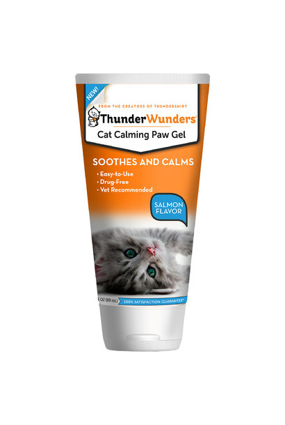 ThunderWunder Calming Paw Gel 3OZ / Cat