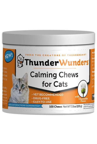 ThunderWunder Calming Chews 100CT / Cat