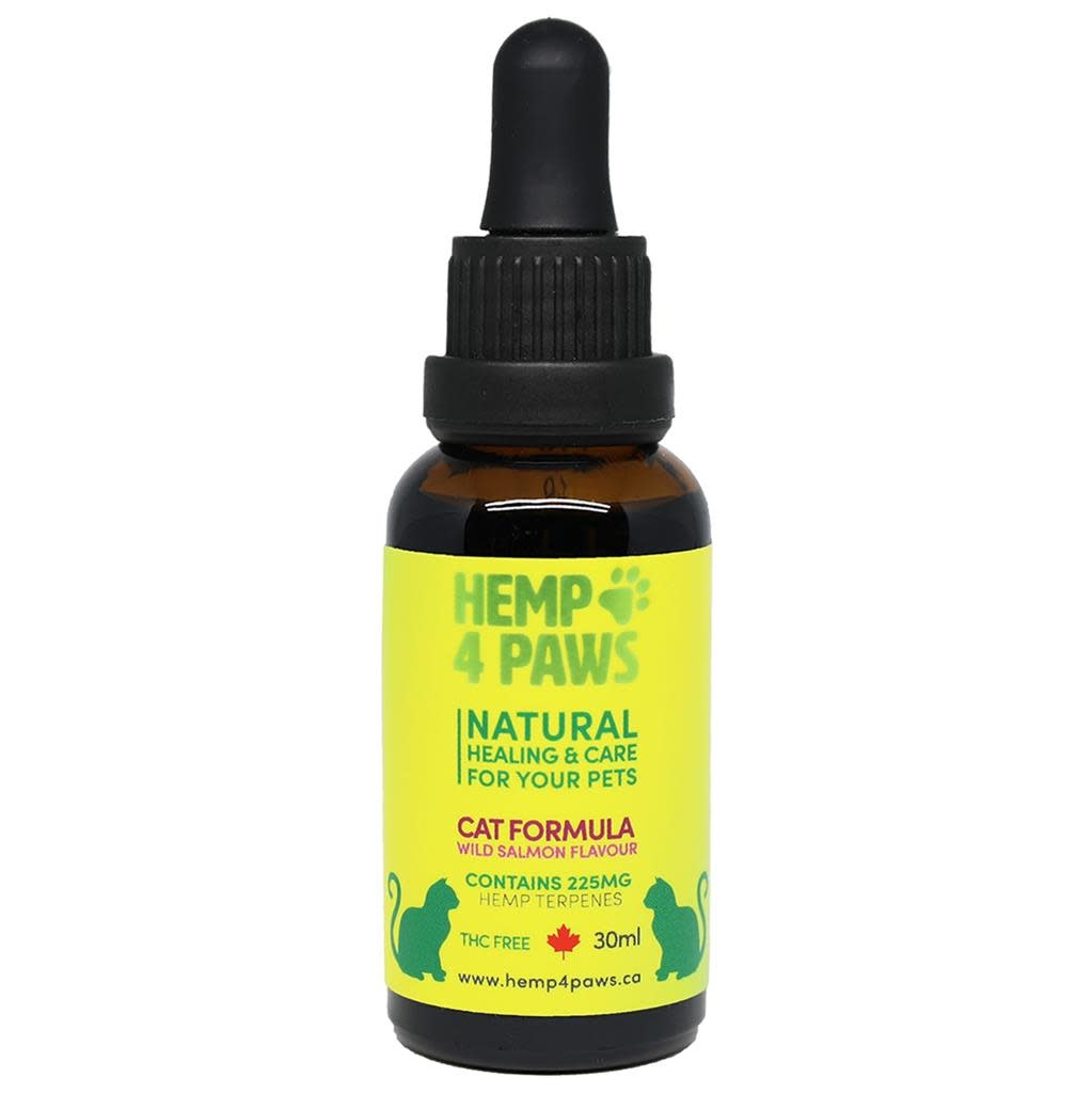 Hemp Seed Oil Wild Salmon Flavour-1