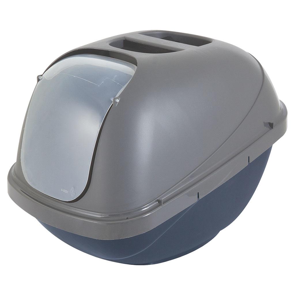 Lge Hooded Pan Bl/Sv 18x15x14-1