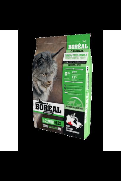 Boreal Original Cat Food turkey & Trout 2.26kg