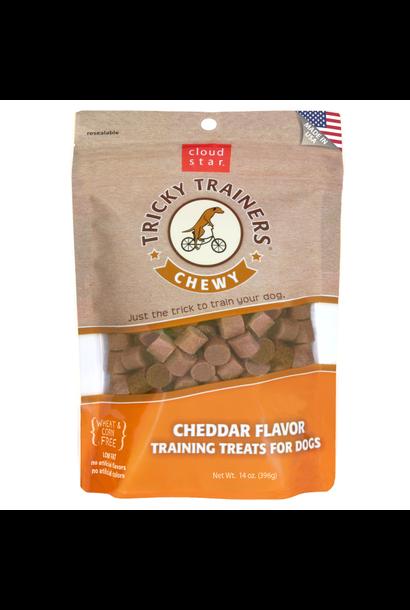 Chewy Tricky Trainers Cheddar 14 oz