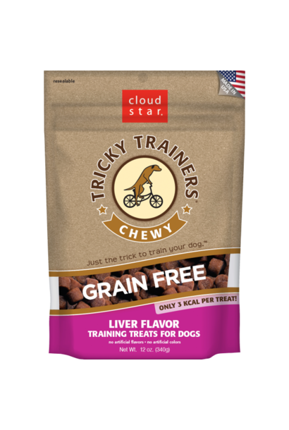 Tricky Trainers Chewy Liver Treats 12oz