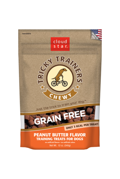 Cloud Star Tricky Trainers Chewy GF Peanut Butter 5oz