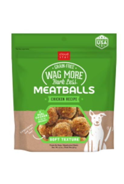 Dog GF Meatballs Chicken 14 oz