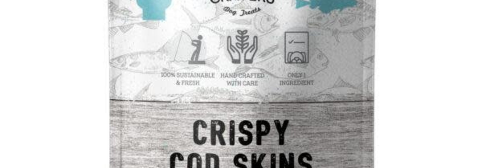Canine Cravers Crispy Cod Skins Dog Treats