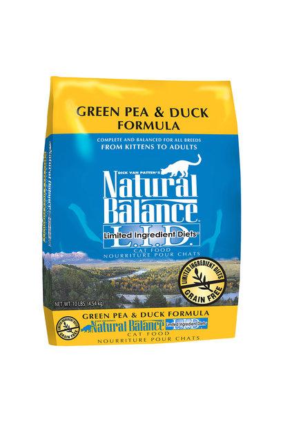 MTO-Green Pea & Duck 10LB / Cat