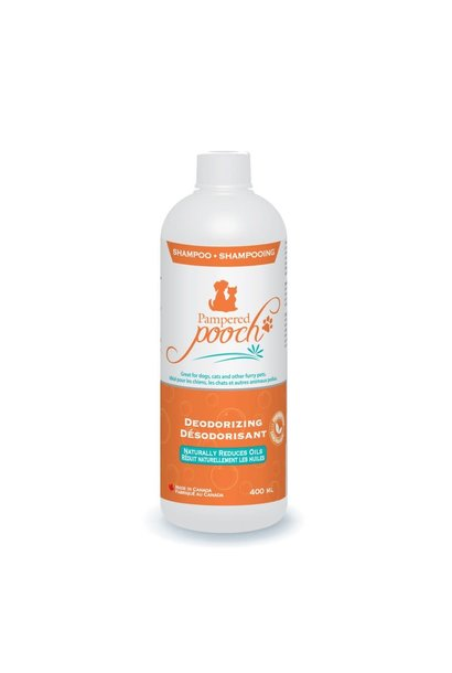Pampered Pooch Deodorizing Shampoo 400ml