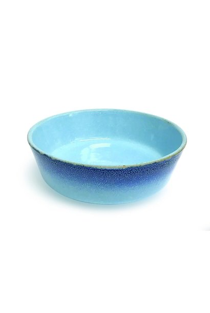 PIONEER Ceramic Bowl-Blue Reactive MED (2)